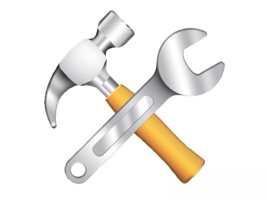 Wrench and Hammer - Service Request
